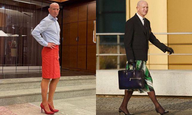 Mark Bryan uwielbia spódnice i szpilki