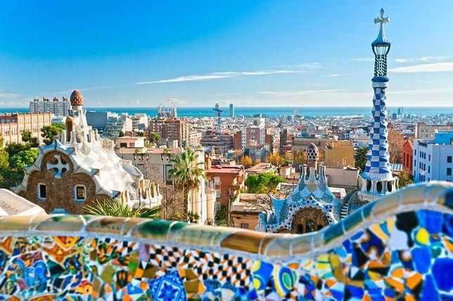 Park Guell w Barcelonie - Hiszpania