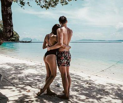 Claudia i Michał na wyspie Phuket w Tajlandii