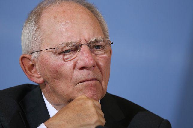 Wolfgang Schaeuble spotka się z premierem Mateuszem Morawieckim