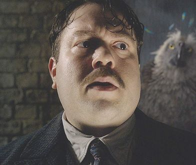 Dan Fogler jako Jacob Kowalski. Dziś już tak nie wygląda