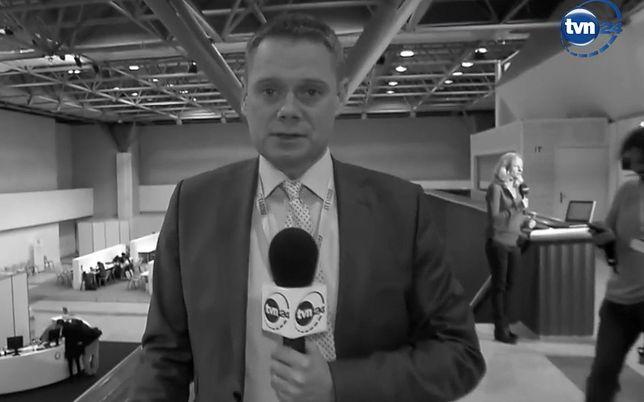 Rafał Poniatowski nie żyje. Dziennikarz TVN od kilku lat walczył z nowotworem