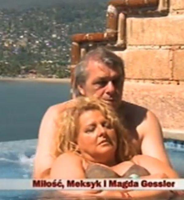 Magda Gessler szaleje w basenie!
