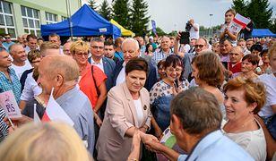 Była szefowa rządu Beata Szydło