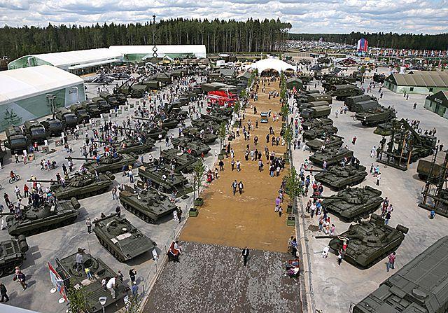 Rosja pręży muskuły. Wojskowe targi pod Moskwą - zdjęcia