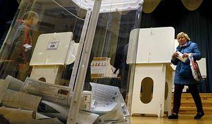 Punkt wyborczy w Moskwie