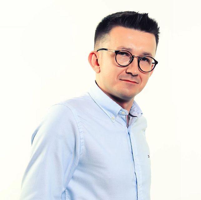 Doktor habilitowany Piotr Donizy z Uniwersytetu imienia Piastów Śląskich we Wrocławiu