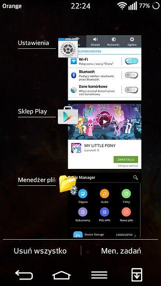 Ostatnie aplikacje