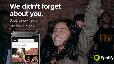 Spotify z darmowym słuchaniem muzyki teraz także na Windows Phone