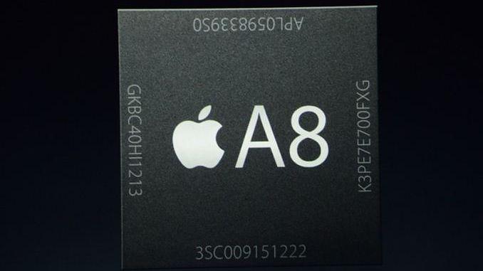 Apple A8 w benchmarkach: 1,4 GHz, 1 GB RAM-u i energooszczędny układ graficzny