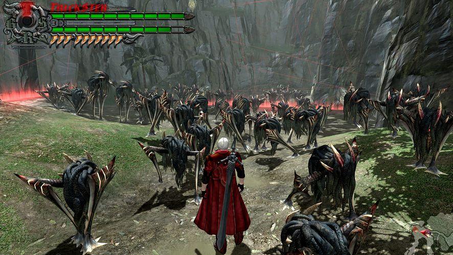 Devil May Cry 4 - jedna z gier dostępnych na kiermaszu