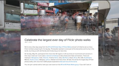 10. urodziny Flickra należy świętować na spacerze z aparatem