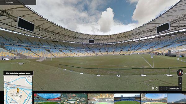 Google zaprasza kibiców na wirtualny spacer po arenach mundialu