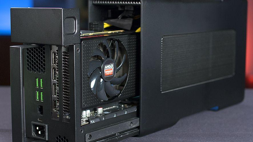 AMD XConnect: czerwoni stawiają na zewnętrzne karty graficzne