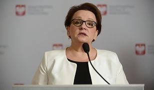Anna Zalewska musi odpowiedzieć na pismo rzecznika w ciągu 30 dni