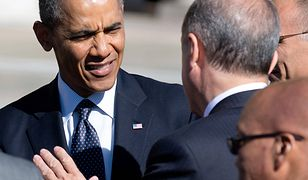 Prezydent USA Barack Obama i prezydent Turcji Recep Tayyip Erdogan