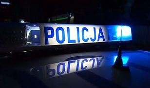 Policjanci zatrzymali mężczyznę, który wtargnął do szkoły.