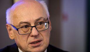 Zdzisław Krasnodębski w tajnym głosowaniu dostał 276 głosów