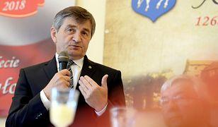 Marek Kuchciński był w Jedlińsku w niedzielę. Odwiedził też Koprzywnicę