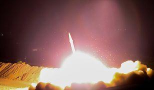 Atak rakietowy Iranu na IS we wschodniej Syrii