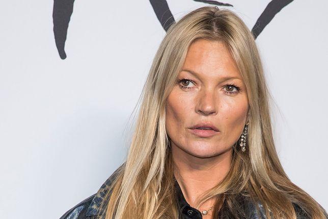 45-letnia Kate Moss jest muzą projektantów oraz królową wybiegów
