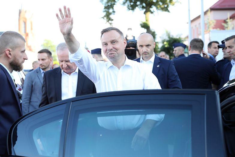 Wybory prezydenckie 2020. Andrzej Duda pojechał na Jasną Górę. Dziękował Matce Boskiej