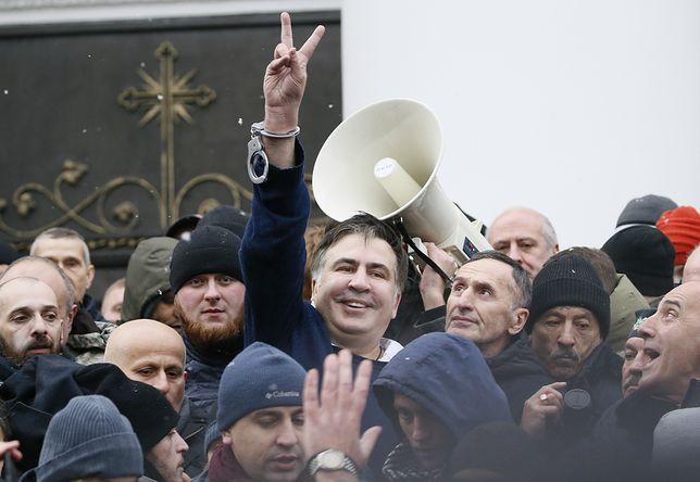 Micheil Saakaszwili został we wtorek zatrzymany