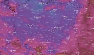 Niż Bennet poszaleje nad Polską. Pierwsze burze, wichury do 90 km/h