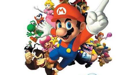 Wykres z wszystkimi grami z Mario