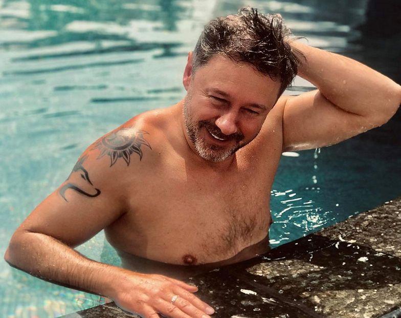 Zdjęcie Piaska z aktorem gejowskich filmów dla dorosłych. Spotkali się w Sopocie