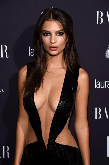 Amerykańska modelka w sukience Juliena Macdonalda