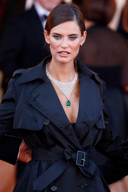 Włoska modelka na 73. Festiwalu Filmowym w Wenecji