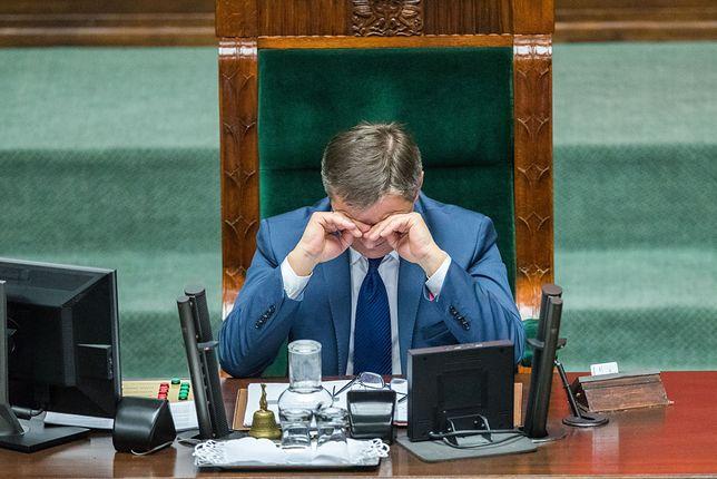 Marszałek Kuchciński latał z rodziną rządowym samolotem. Są dowody