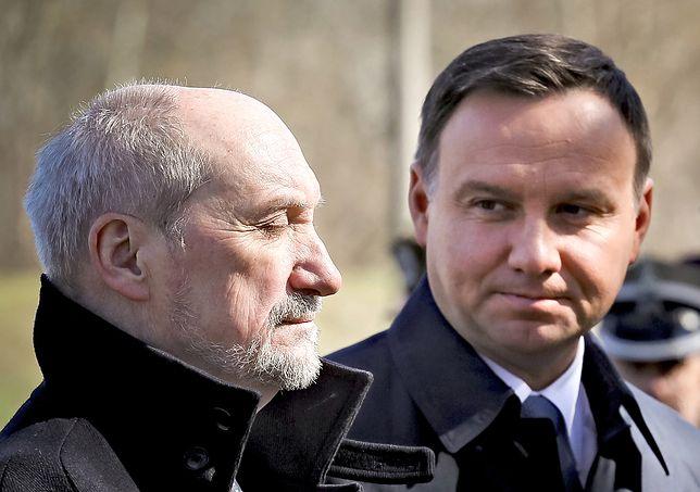 """Konflikt Duda-Macierewicz zmieni losy partii? """"Prezydent urwał się z łańcucha"""""""