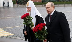 Patriarcha moskiewski Cyryl i Władimir Putin