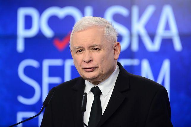 Jarosław Kaczyński zabrał głos ws. krów z Deszczna