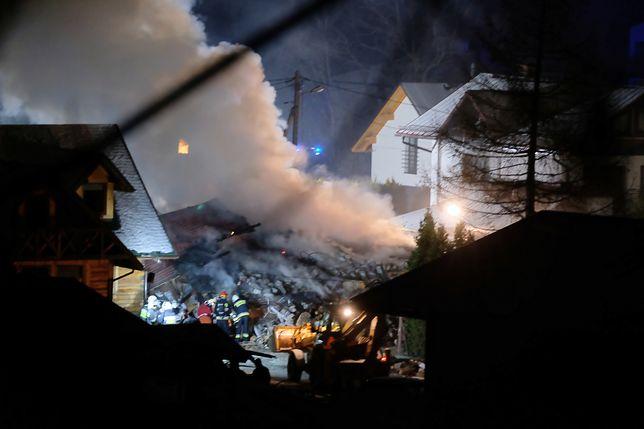 Szczyrk. W chwili eksplozji znajdowało się tam prawdopodobnie 8 osób.