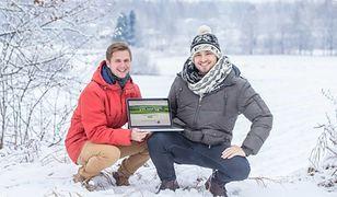 Robin Saluoks i Stenver Jekku - twórcy eAgronom