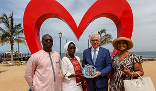 """Szef MSZ Jacek Czaputowicz otworzył ambasadę Polski w Senegalu. """"To wyraz ważnej współpracy"""""""