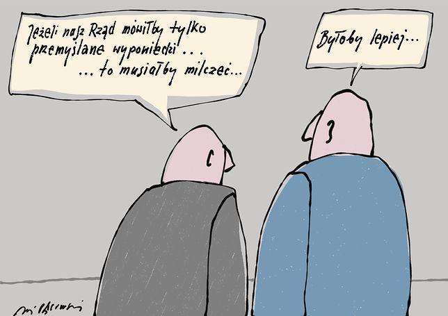 """Polski rząd najpierw mówi, potem myśli? """"Może lepiej jednak milczeć"""""""