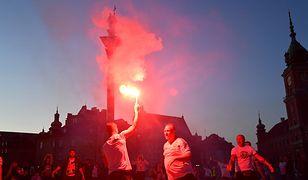 Warszawa świętuje zwycięstwo Legii. Feta na placu Zamkowym