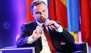 Andrzej Duda: imigranci, konflikt i spadająca dzietność na Ukrainie głównymi problemami Europy