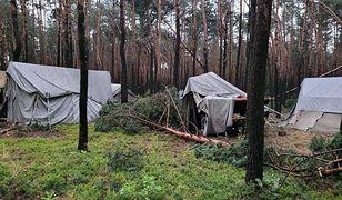 Kostkowice. Obóz harcerski zniszczony przez burzę. Pięć osób trafiło do szpitala