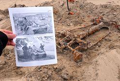 Pobierowo: Kübelwagen znaleziony na plaży