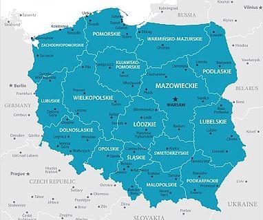Polska – na ile województw jest podzielona? Jakie są miasta wojewódzkie w Polsce?
