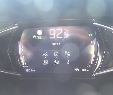 DS 3 Crossback 1.2 PureTech 131 KM (AT) - pomiar zużycia paliwa