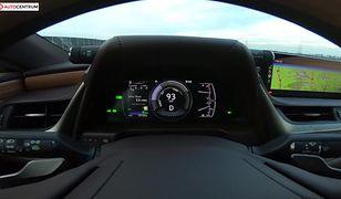 Lexus ES 300h 2.5 Hybrid 218 KM (AT) - pomiar zużycia paliwa