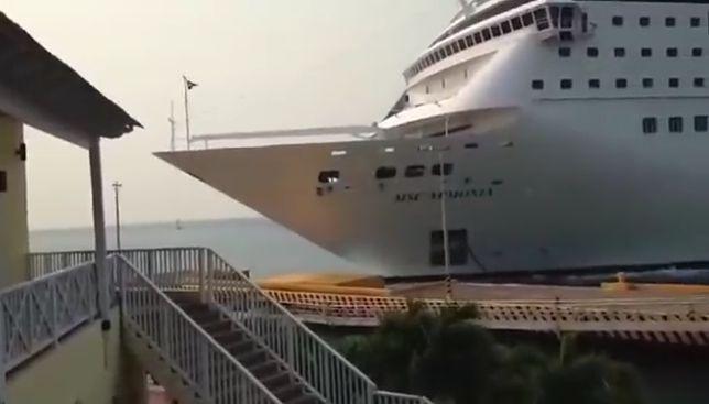 Statek nie miał szans się zatrzymać