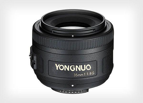 Chińskie klony obiektywów Canona i Nikona
