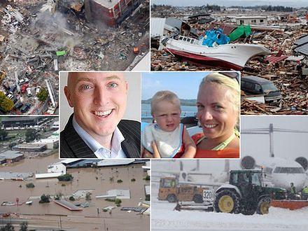 Podróż poślubna w oko cyklonu z trzęsieniem ziemi w tle...